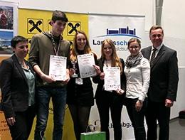 Sieger beim Sprachencup 2018