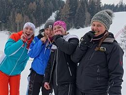 HLW-Team bei den Landesmeisterschaften Ski Alpin