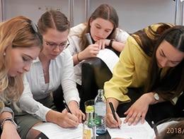Gruppenarbeit beim Workshop
