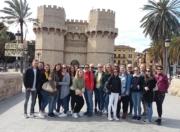 Gruppenfoto Sprachreise Valencia