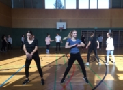 Tanzworkshop im Turnsaal