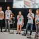 HLWM Schülerinnen und Schüler bei der Präsentation RobocupWM