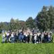 Gruppenfoto der Klassen vor dem Fuschlsee