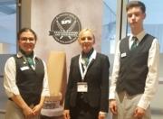 Teilnehmer Käsekennerfinale mit Lehrerin