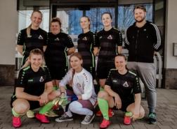 Mädchenmannschaft Gruppenbild
